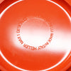 Orange Massimo Vignelli for Heller Dinnerware - Set of 31 Pieces