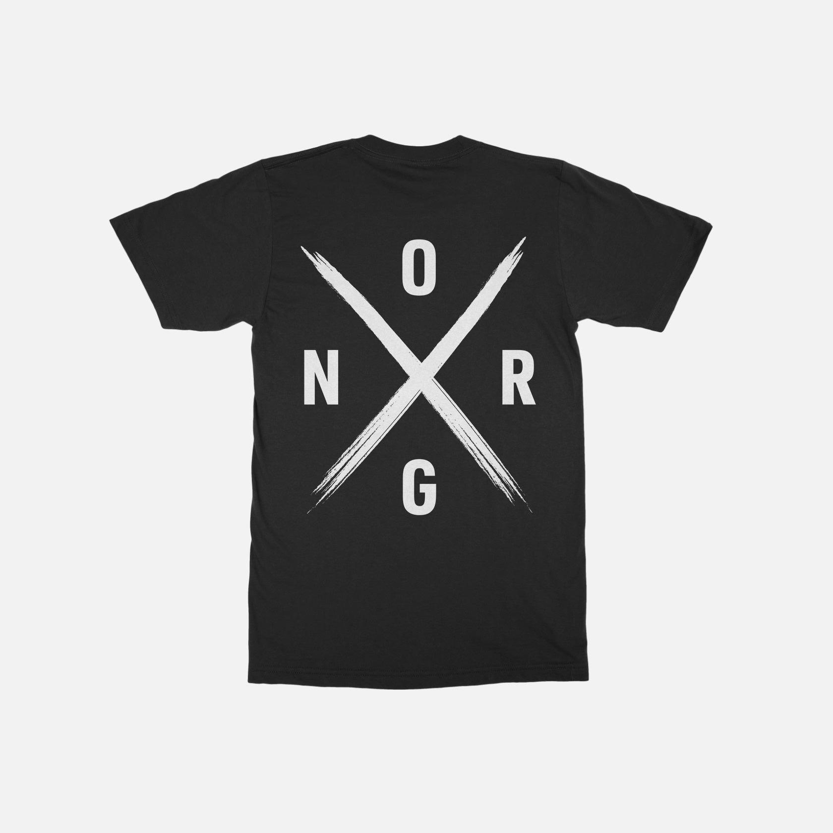 ORGNX Simple X T-Shirt Black