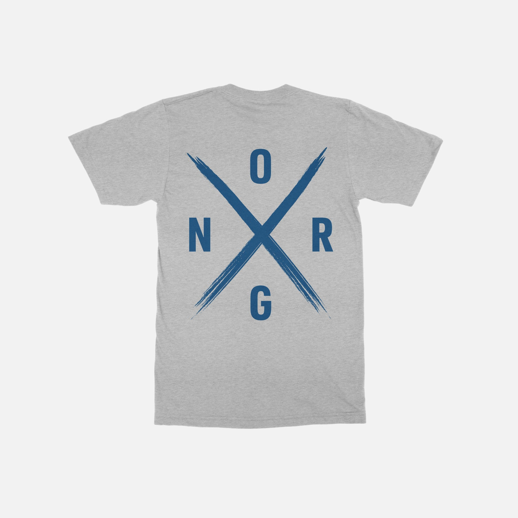 ORGNX Simple X T-Shirt Grey