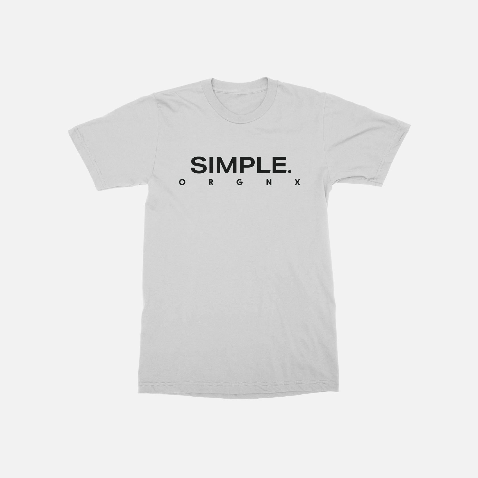 ORGNX Simple T-Shirt White Front
