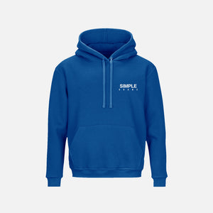 ORGNX Simple X Hoodie Blue Front