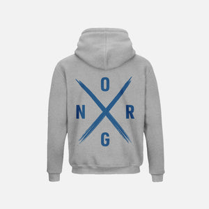 ORGNX Simple X Hoodie Grey