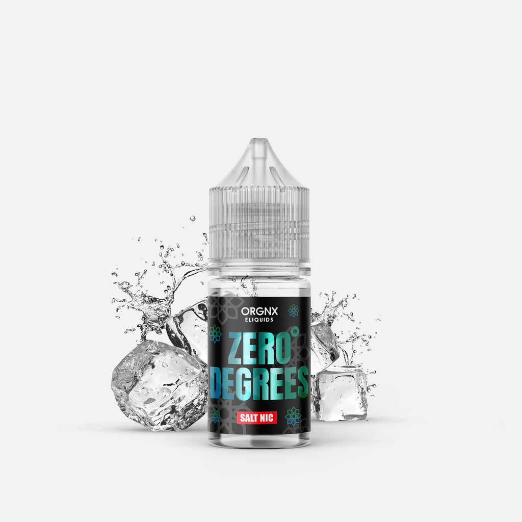ORGNX Eliquids Zero Degrees Salt Nic