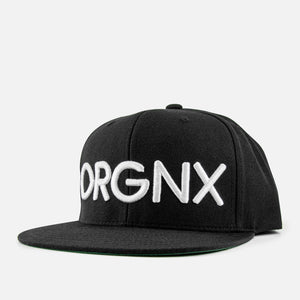 ORGNX Logo Snapback Front