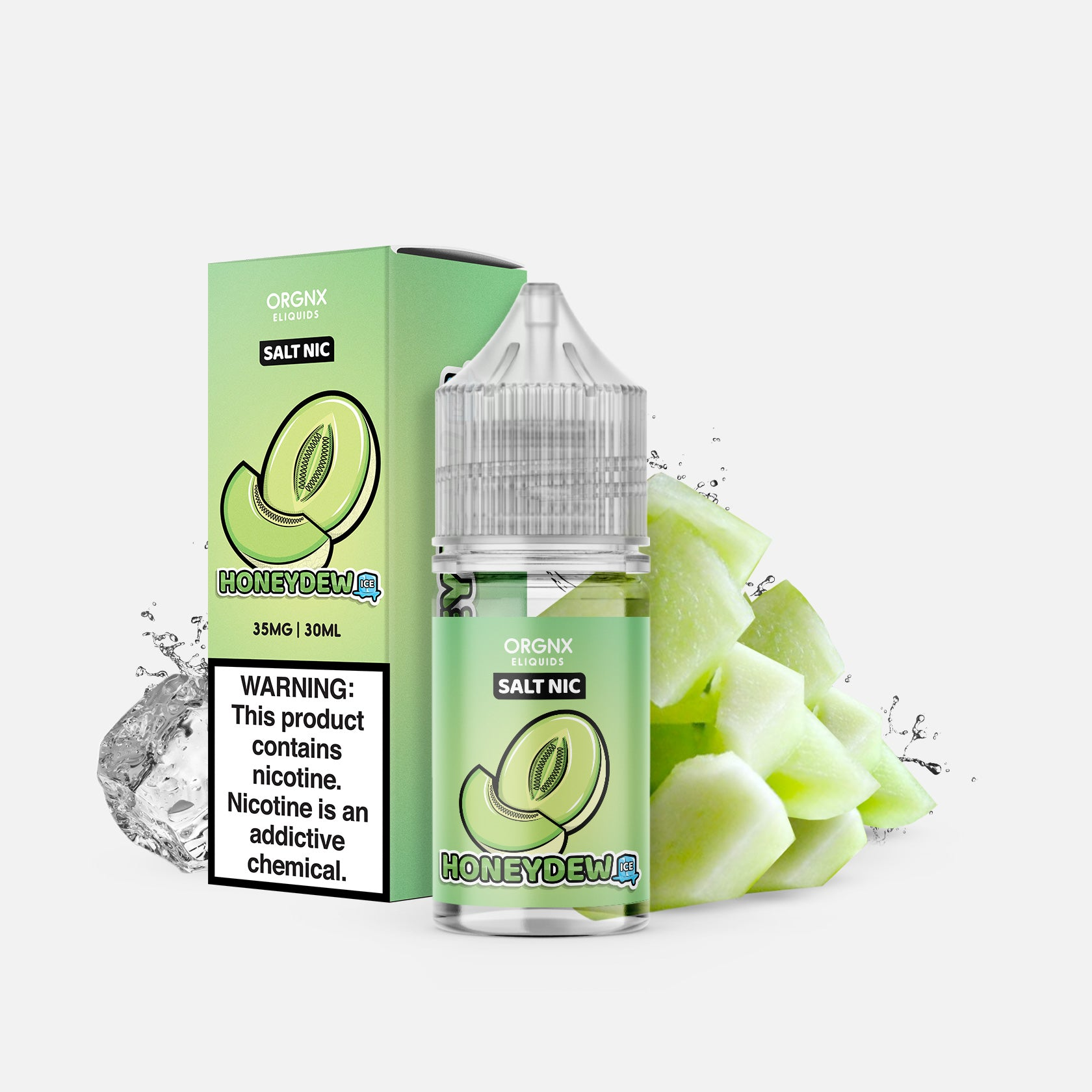 ORGNX Eliquids Honeydew Ice Salt Nic