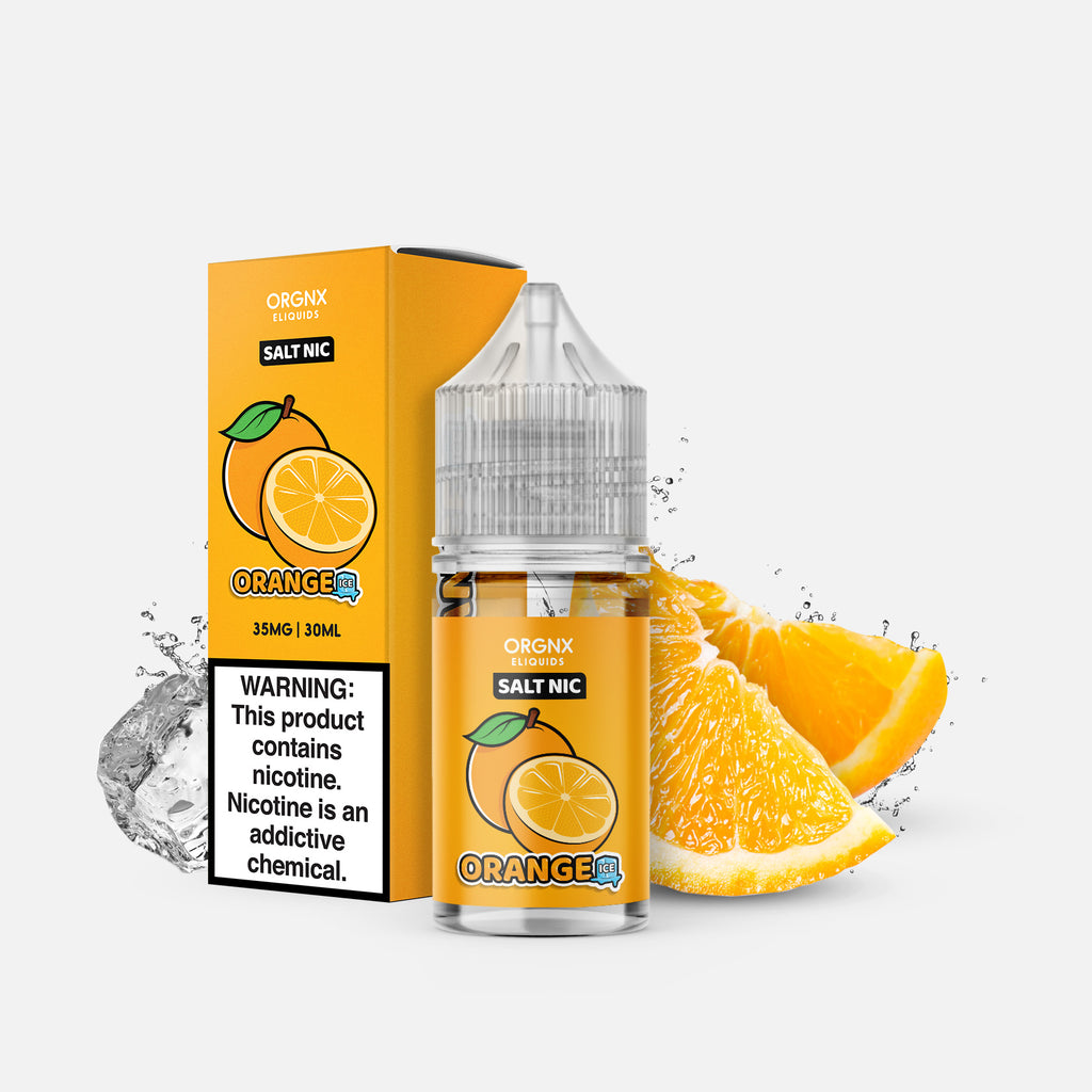 ORGNX Eliquids Orange Ice Salt Nic