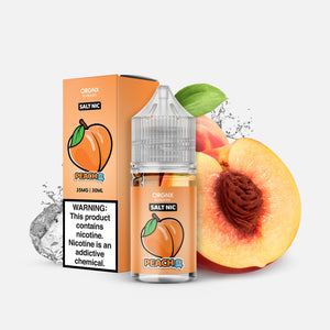 ORGNX Eliquids Peach Ice Salt Nic
