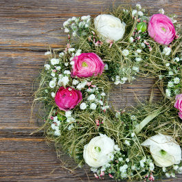 Make Your Own Flower Wreath