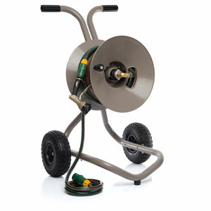 Heavy Duty Hose Reel Cart with 30m Hose