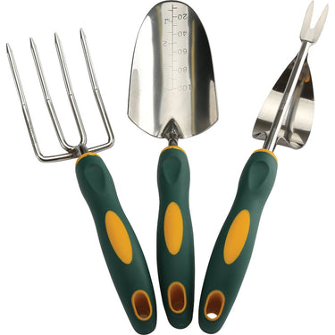 Garden Fork, Trowel and Weeder Set