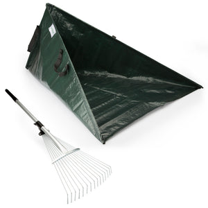 Rake & Sweep-in Leaf Collector