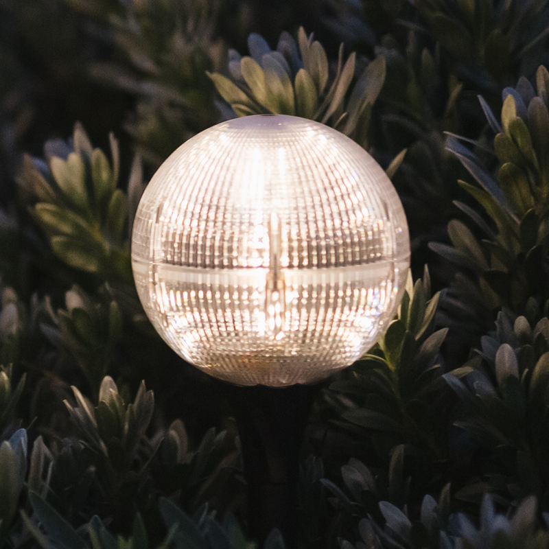Decorative 2-in-1 Solar Garden Globe 20LED