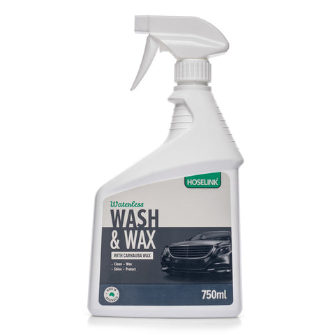 Waterless Wash & Wax with Carnauba Wax