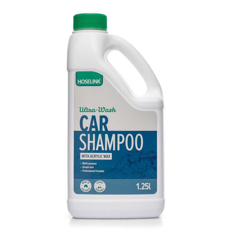 Ultra-Wash Car Shampoo with Acrylic Wax
