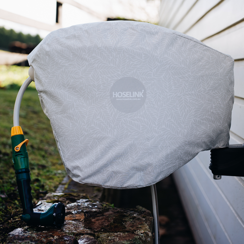 Hose Reel Cover - Natural Fern