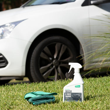 Waterless Wash and Wax with Microfibre 3x Towel Bundle