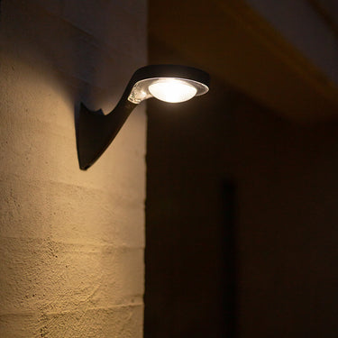 Overhead Round Solar Wall Light with Sensor 13LED