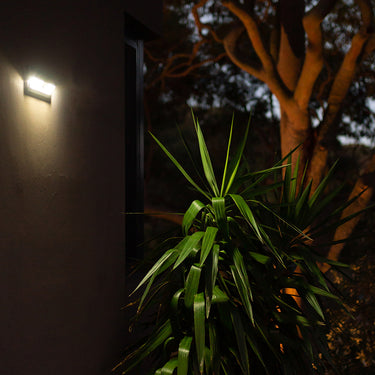 Wide Angle Solar Wall Light with Sensor 62LED - 4 Pack