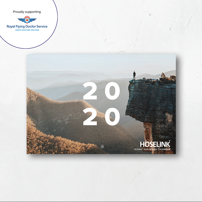 2020 Hoselink Calendar - All profits raised go to the RFDS