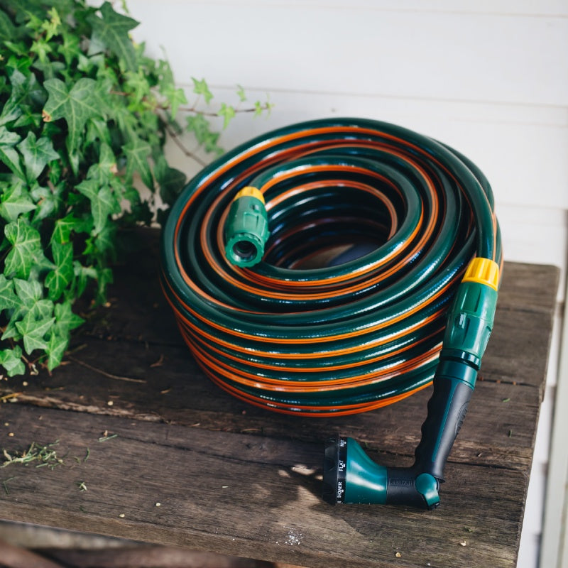 Superflex Garden Hose + Starter Kit