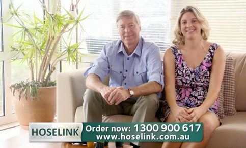 Tim & Sally on our 2010 TV Commerical