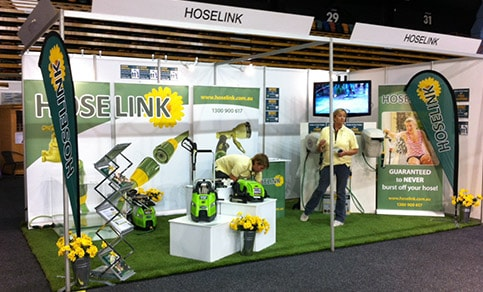 Our Exhibit Setup at Newcastle