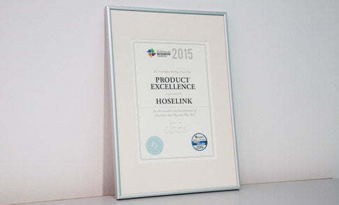 2015 Australian Business Award for Product Excellence Logo