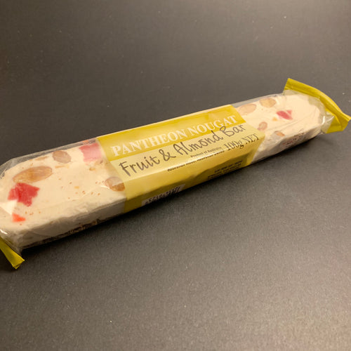 Nougat - Fruit and Almond Bar