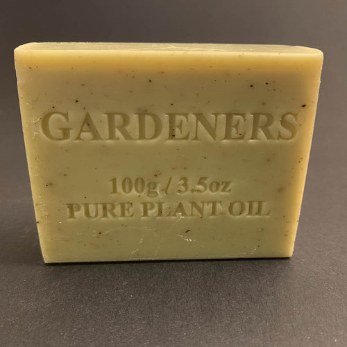 100g Pure Natural Plant Oil Soap - Gardeners