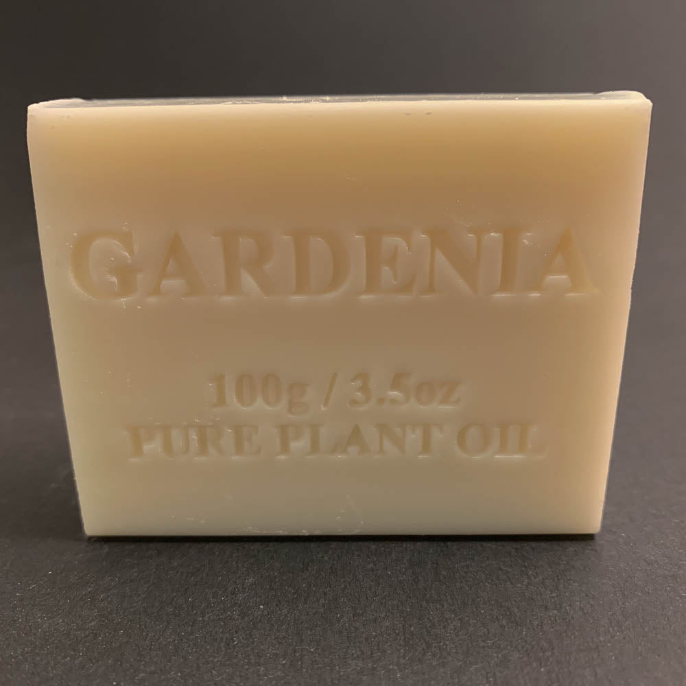 100g Pure Natural Plant Oil Soap - Gardenia