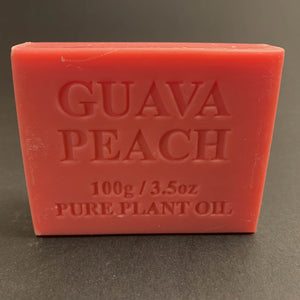 100g Pure Natural Plant Oil Soap - Guava Peach