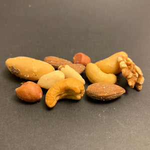 Mixed Nuts with Peanuts - Roasted and Unsalted