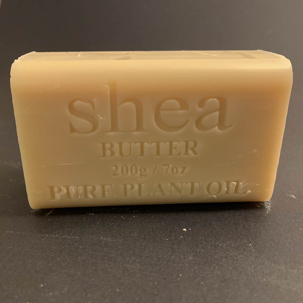 200g Pure Natural Plant Oil Soap - Shea Butter
