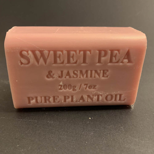 200g Pure Natural Plant Oil Soap - Sweet Pea & Jasmine