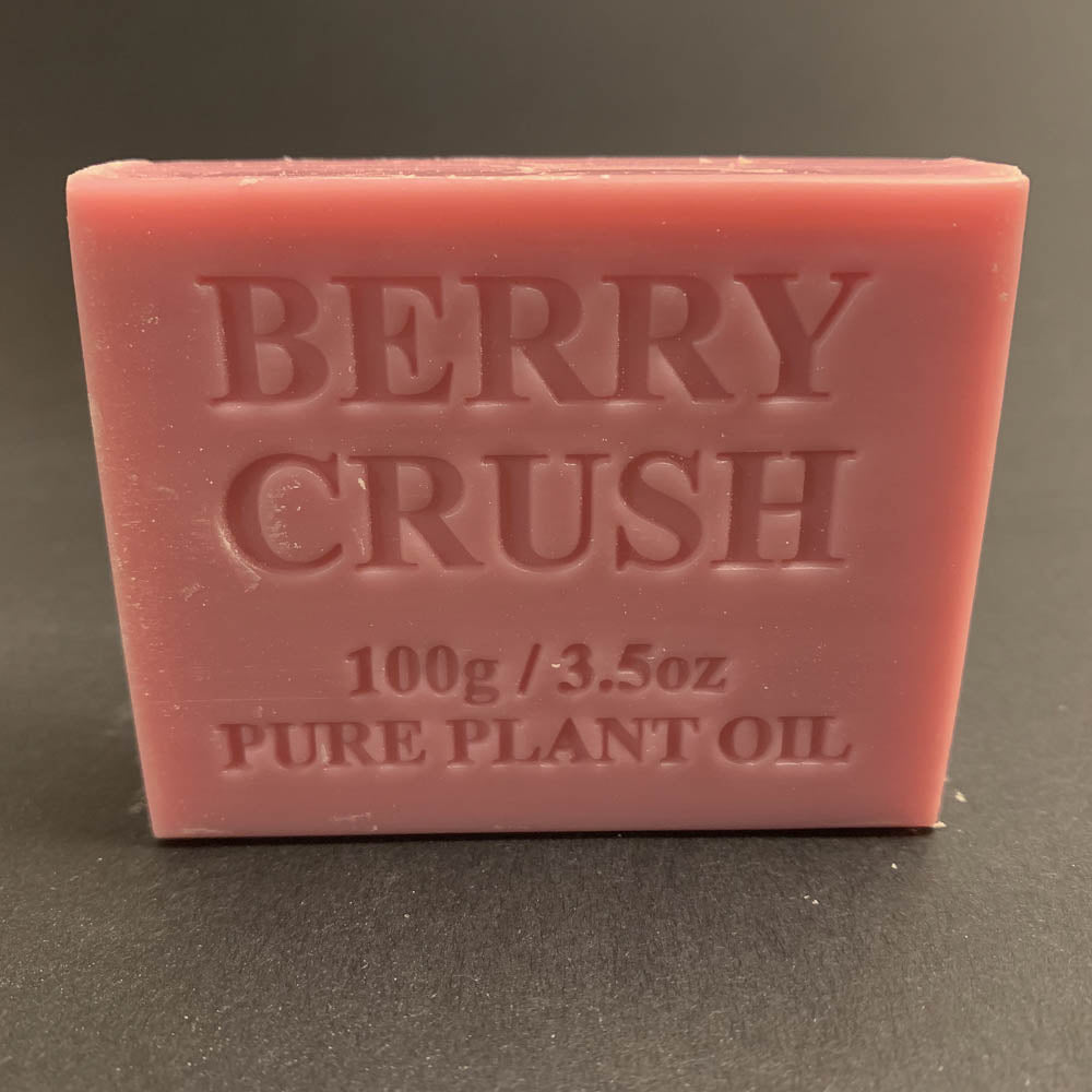 100g Pure Natural Plant Oil Soap - Berry Crush