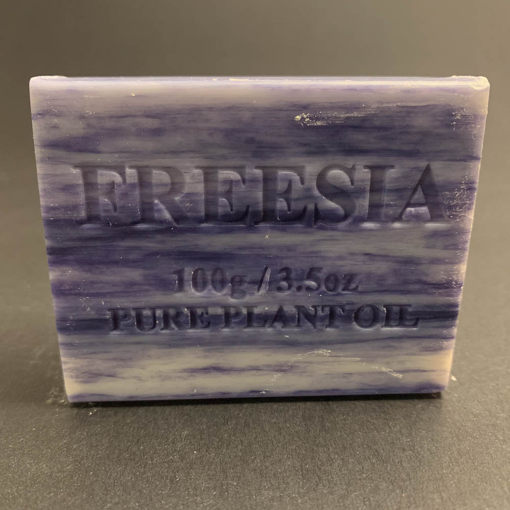 100g Pure Natural Plant Oil Soap - Freesia