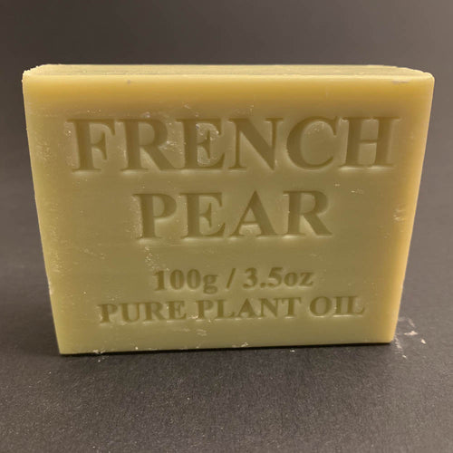 100g Pure Natural Plant Oil Soap - French Pear