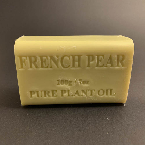 200g Pure Natural Plant Oil Soap - French Pear