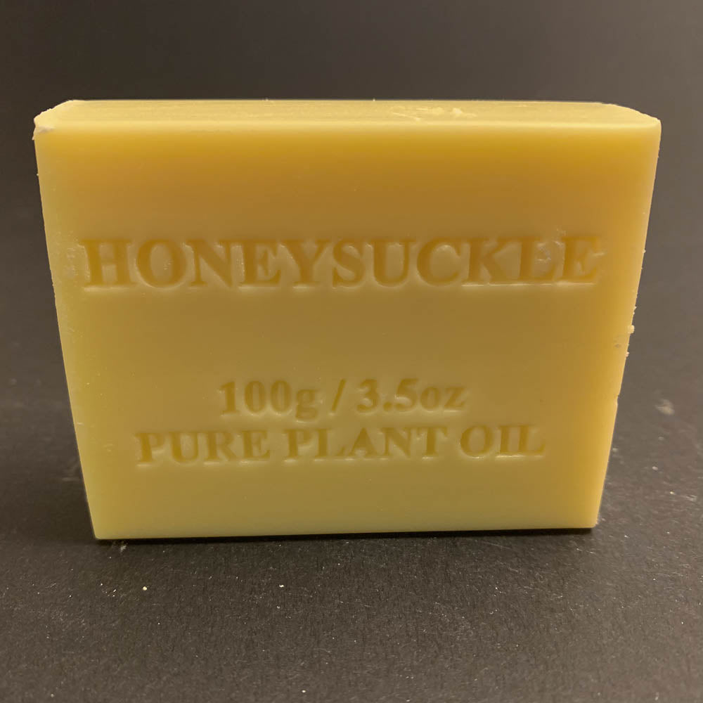 100g Pure Natural Plant Oil Soap - Honeysuckle