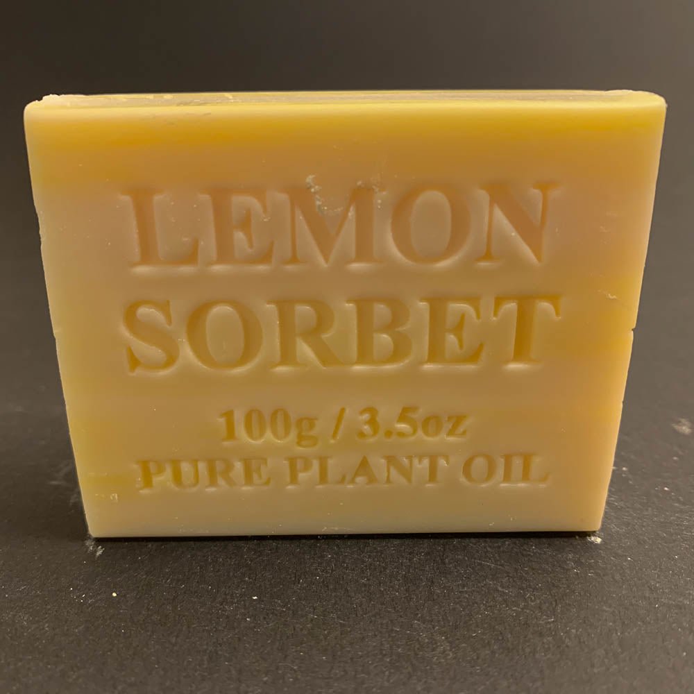 100g Pure Natural Plant Oil Soap - Lemon Sorbet