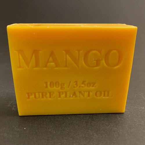 100g Pure Natural Plant Oil Soap - Mango