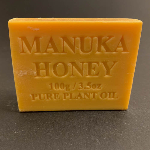100g Pure Natural Plant Oil Soap - Manuka Honey