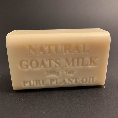 200g Pure Natural Plant Oil Soap - Natural Goats Milk