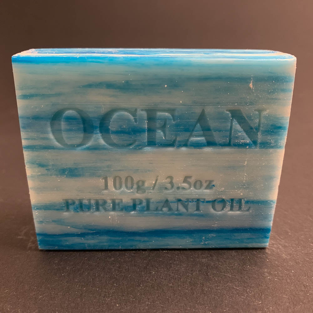 100g Pure Natural Plant Oil Soap - Ocean