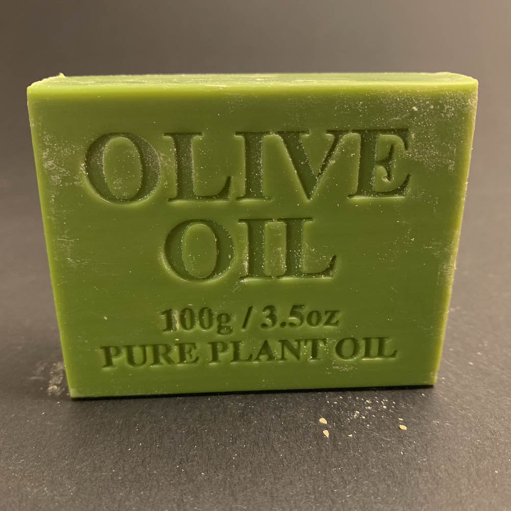 100g Pure Natural Plant Oil Soap - Olive Oil