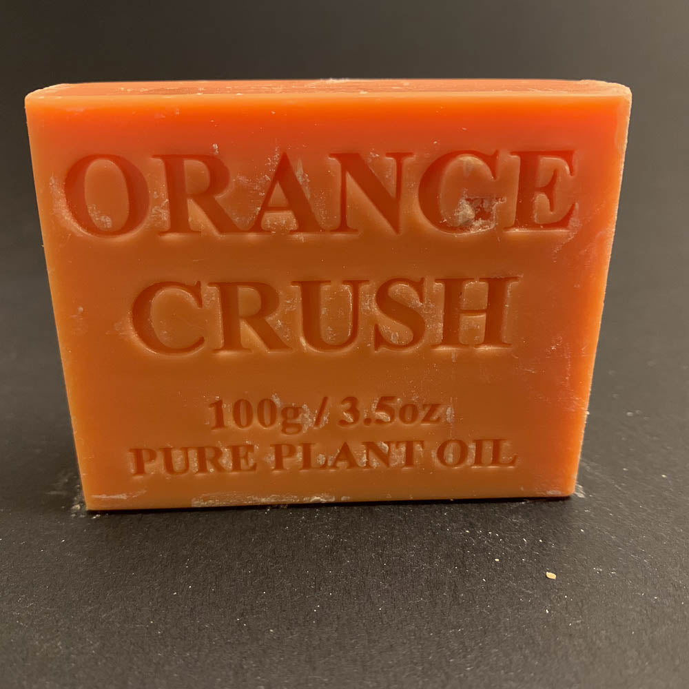 100g Pure Natural Plant Oil Soap - Orange Crush