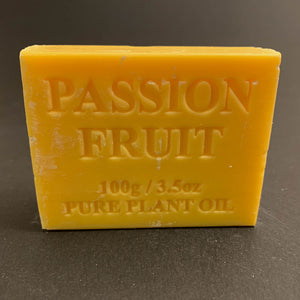 100g Pure Natural Plant Oil Soap - Passionfruit