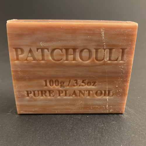 100g Pure Natural Plant Oil Soap - Patchouli