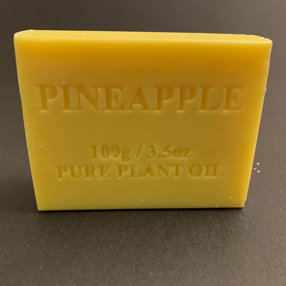 100g Pure Natural Plant Oil Soap - Pineapple