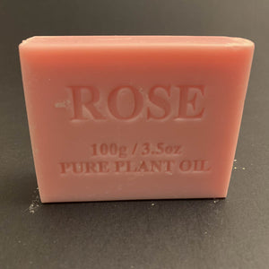 100g Pure Natural Plant Oil Soap - Rose